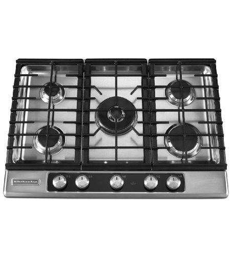 kitchen aid cooktop knob - 6