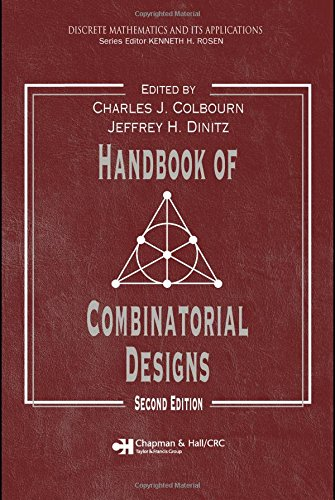 Handbook of Combinatorial Designs, Second Edition (Discrete Mathematics and Its Applications) by Brand: Chapman and Hall/CRC