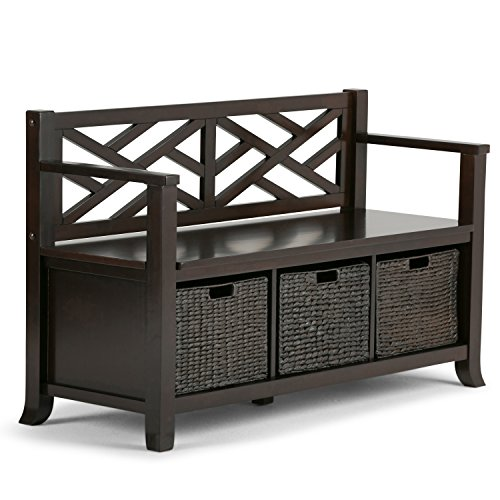 Simpli Home - Adrien Entryway Bench