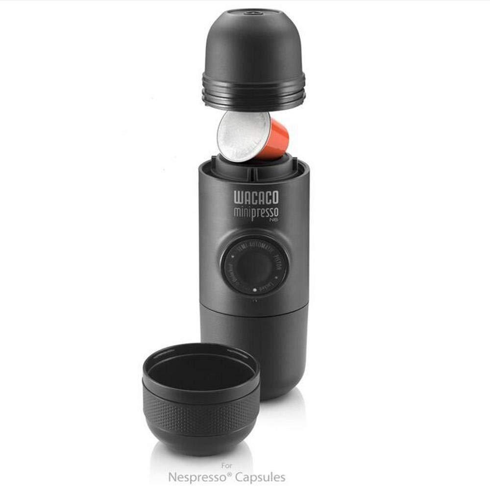 Máquina portátil del café de las cápsulas de la presión manual de la mano del fabricante de café para las cápsulas de Nespresso: Amazon.es: Hogar