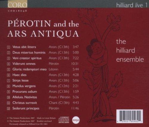 Hilliard Live 1: Perotin & The Ars Antiqua
