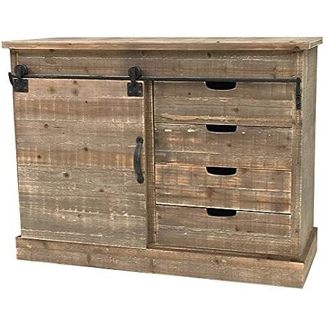 Credenza console Cassettiera mobile di cucina legno Campagna ...