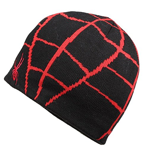 Spyder Boys Mini Web Hat, Black/Formula, One Size (Spider Womans Hat)
