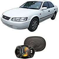 Fits Toyota Camry Sedan 1997-2001 Rear Deck Factory Replacement Harmony HA-R69 Speakers