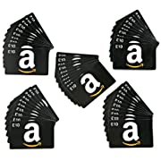 Buy a pack of 50 Amazon.co.uk Gift Cards