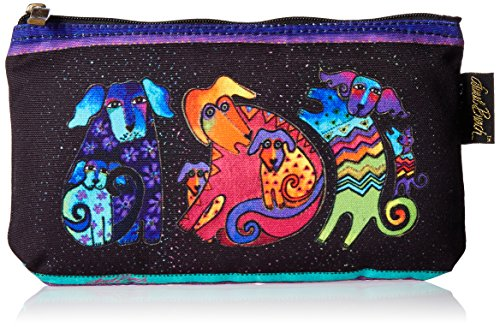 Laurel Burch Cosmetic Bag, Dog and Doggies, Set of 3 (Cosmetic Bag Set Of 3)