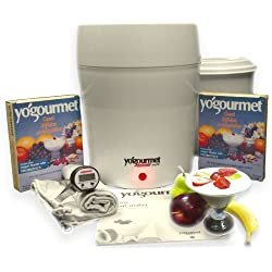 Yogourmet Multi Electric Yogurt Maker with CBA Starter
