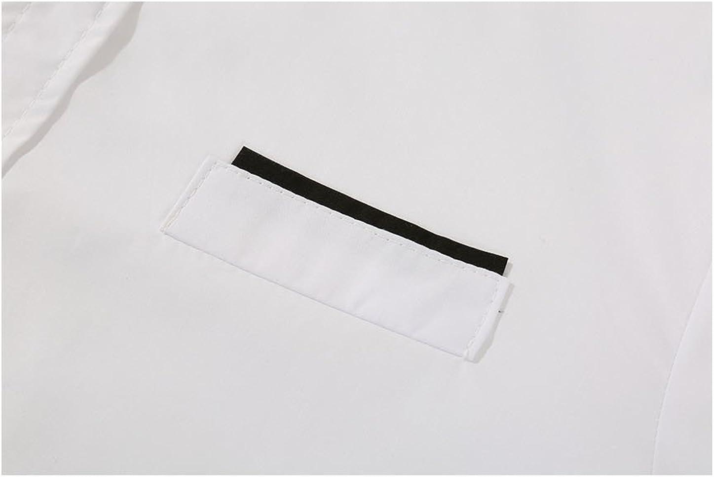 Allegra K Men Short Sleeves Slim Fit Button Down Shirt