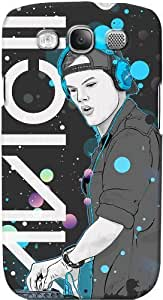 DailyObjects Avicii DJ Case For Samsung Galaxy S3 Back Cover Black
