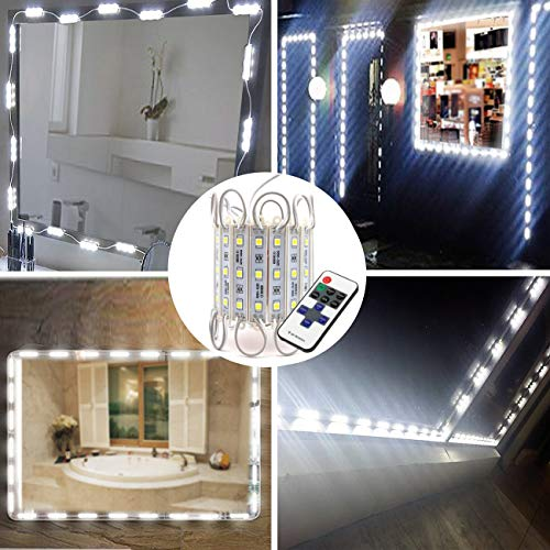 LED Storefront Lights,Pomelotree 40ft 80 Pieces Waterproof led window lights for Letter Sign Advertising Signs LED Light module,4 Set 5050 SMD LED Module (White light) ()