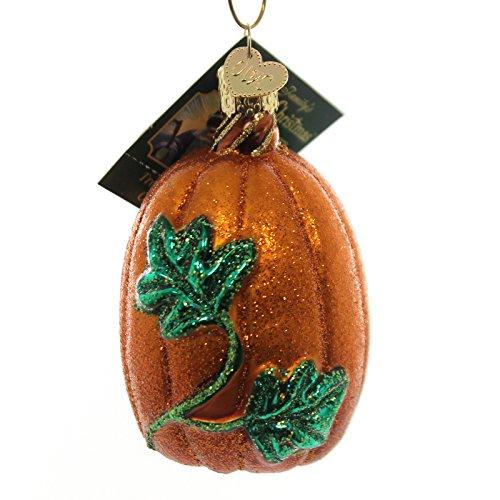 PUMPKIN Glass Ornament
