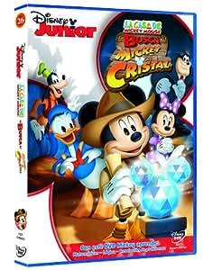 La Casa De Mickey Mouse: En Busca Del Mickey De Cristal [DVD]