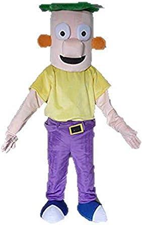Amazon.com: Aris talla de adulto disfraz de Phineas y Ferb ...