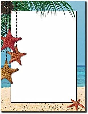 Vacaciones Estrellas papel con membrete papel para impresora ...