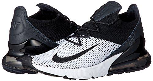 Schuhe 270 Max weiß 45 – Nike Kohlenstoff schwarz Größe Air Flyknit ngwZWx1