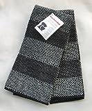 KitchenAid Kitchen Towels Black & Gray 2 Pack 100% cotton