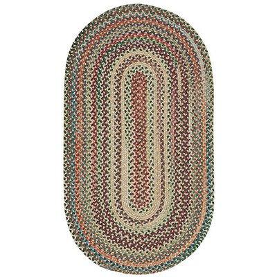 Sherwood Forest Amber Rug Rug Size: Concentric 20
