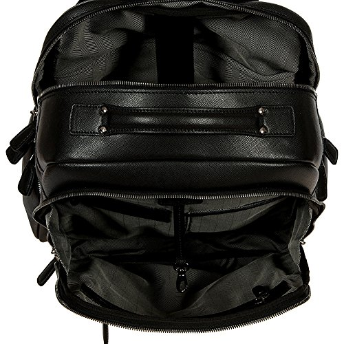 Bric's Varese Sac à dos cuir 40 cm Black