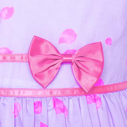 0381b26e9d4 Jual Sunny Fashion Girls Dress Rose Flower Double Bow Tie Party ...