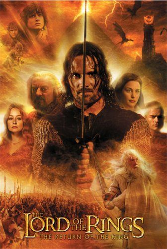 THE LORD OF THE RINGS POSTER The Return of King 24x36-3 (24x36 Lord Of The Rings)