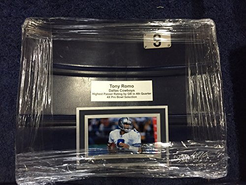 (Dallas Cowboys Texas Stadium Custom Tony Romo #9 Seat Back Game Used, Perfect for Autographs, COA)
