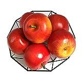 Jing-Rise 6pcs Fake Apples Artificial Fruits Vivid Red Apple for Home Fruit Shop Supermarket Desk Office Restaurant Decorations Or Props(Red)