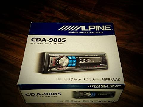 Alpine CDA-9885 CD/MP3/WMA/AAC Receiver (98 Cherokee Stereo Alpine)