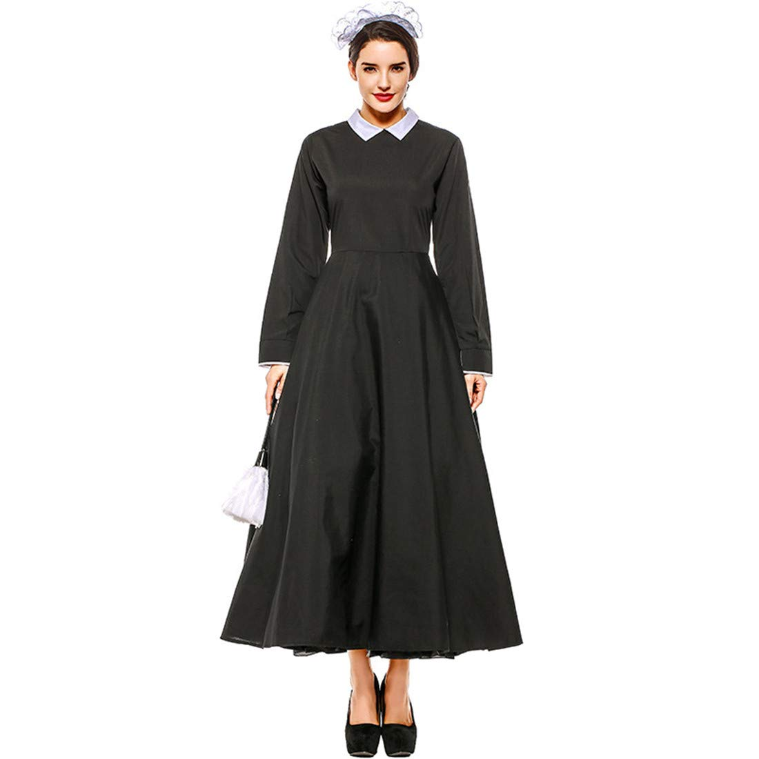 Amazon.com: LY-VV - Vestido de peregrino para mujer, talla ...