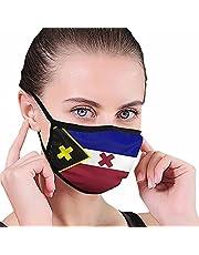 Lmanburg Flag Dream SMP Adult Dust M-a-s-k Gezichtsbescherming met Filters, Balaclava Winddicht Herbruikbare Wasbare Decoratie Sjaal 1 STKS