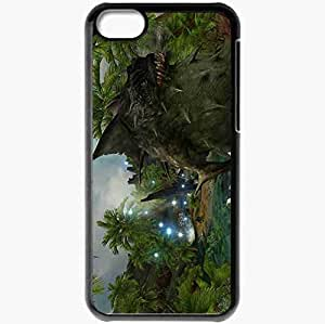 Personalized iPhone 5C Cell phone Case/Cover Skin Aion Black