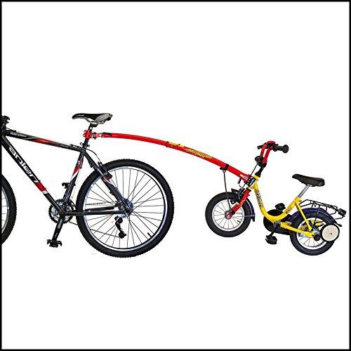 Trail Gator Tandemstange in Display- Box Kinder Fahrrad   BIKE rot tandem bar