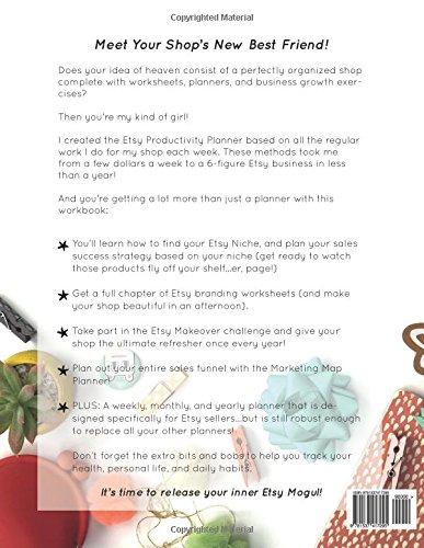 The Etsy Productivity Planner: Jenni Waldrop: 9781537417295 ...