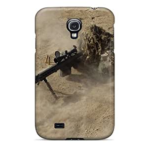 Flexible Tpu Back Case Cover For Galaxy S4 - Military
