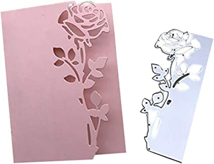 Scrapbooking dies de decoupe Cutting Dies pochoirs Matrices de d/écoupe Bricolage Album papier carte Craft Lamour Bow