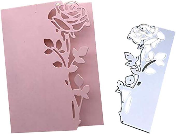 Prosperveil Metal Cutting Dies Decorative Heart Frames Embossing Stencil Template for Card Making Scrapbooking Photo Album DIY Crafts Wedding Christmas Cards Decoration