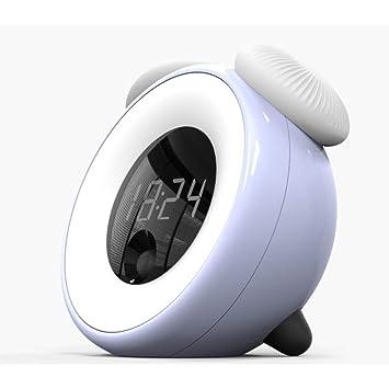 Hora Creativa Reloj Despertador La Habitación De Los Niños La Hora De Dormir Inteligente La Luz
