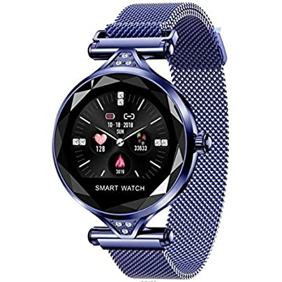 DMMDHR New Waterproof Fashion Smart Bracelet Bluetooth Heart Rate Blood Pressure Color Screen Sports Women s Wristband Watch Gift Estimated Price £95.00 -
