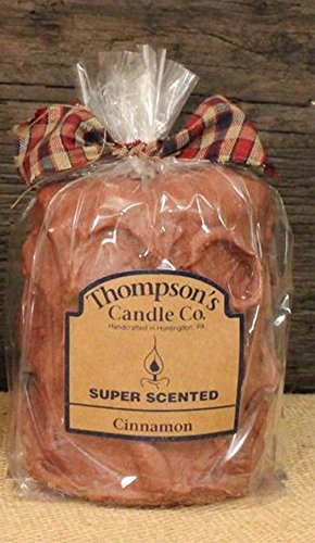 Thompson's Candle Co Super Scented MED (18 oz) Pillar 80 Hrs