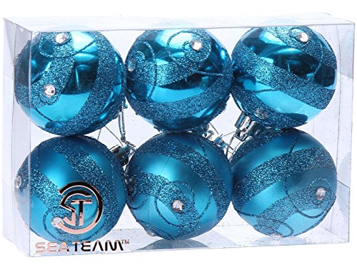 Blue and Silver Christmas Ornaments: Amazon.com