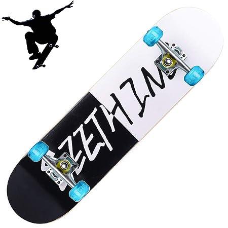 GWNJSSD Skateboard para Niños | Patineta De Cuatro Ruedas Flash ...