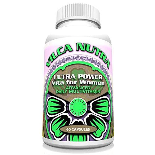 Women's Multi Vitamin Complex – Iron Free – If You are 50+ a Daily Intake of Vitamins – Minerals – Antioxidants and Herbs Specifically Formulated for Women's Needs Ultra Power Vita for Women can Enhance Your Energy and Focus and Help You Achieve Your Health Goals!