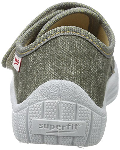 Superfit Bill, Zapatillas de Estar por Casa para Niños Grün (Truffle Kombi)