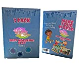 Air Dry Clay for Slime Clay - Slime Stuff, Soft Modeling Clay for Kids, Slime Supplies, 3 Pack: Dark Blue, Sky Blue, Light Purple