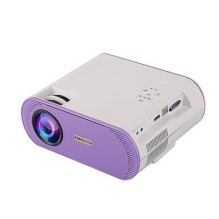 Mini proyector El proyector portátil con altos lúmenes admite la ...