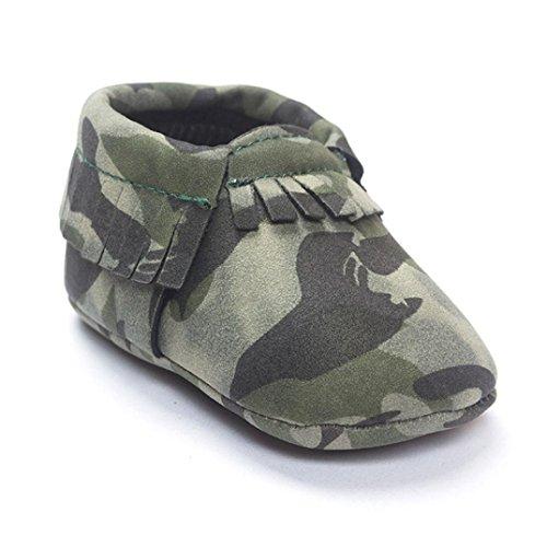 Saingace Krabbelschuhe 0 ~ 18 Monate Babybett Quasten Pailletten Schuhe Kleinkind -weich Sohle Turnschuhe Freizeitschuhe