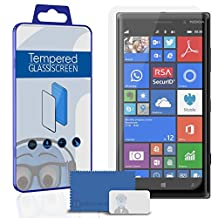 Nokia Lumia 830 Screen Protector TUFF STEALTH Tempered Glass Protective LCD Anti-Scratch Durable
