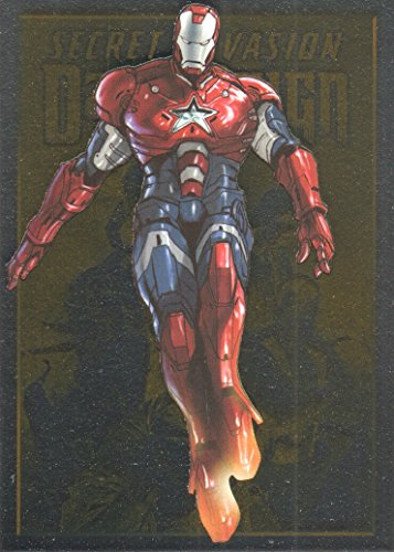(2014 Rittenhouse Marvel Universe Trading Card #64 Dark Reign Iron Patriot/Norman Osborn)