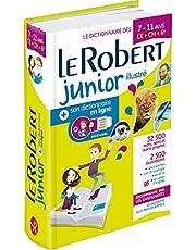 Dictionnaire Le Robert Junior illustré et son dictionnaire en ligne - 7/11 ans - CE-CM-6e: Includes free access to Le Robert Junior Online Dictionary