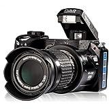 "Digital SLR Camera UpgradeVersion 16MP 3.0"" LCD Full-HD With 16X Optical Zoom Telephoto Lens Wide Angel Lens DSLR Camera"