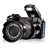 Digital SLR Camera 16MP 3.0-Inch LCD Full-HD With 16X Optical Zoom Telephoto Lens Wide Angel Lens